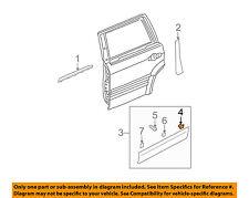 KIA OEM 03-09 Sorento REAR DOOR-Body Side Molding Clip 8771902500