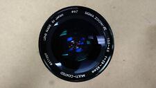 SIGMA ZOOM-e II f=28~85mm 1:3,4~4,5 Multi-Coated Lens w/ Lens Filter