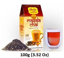 Zesta Masala Chai Leaf Tea,PREMIUM BLACK TEA,BOP Ceylon Tea 100g (3.52 Oz)