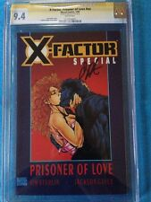 X-Factor: Prisoner of Love #1 - Marvel - CGC SS 9.4 NM - Signed by Jim Starlin