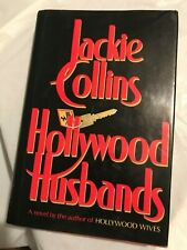 HOLLYWOOD HUSBANDS Jackie Collins 1986 1st Edition 1st Printing Hollywood Wives