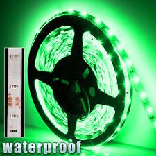 12V Bright Green Waterproof Flexible LED Strip Lights 5M 300 LEDs 3528 SMD Light