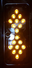 1x LED Clear/Amber Light. Suits my S/S Westcoast mirror or Western Star Truck