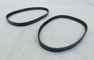 Ducati Monster S4R Superbike 999 Engine Motor Toothed Timing Drive Belts Pair