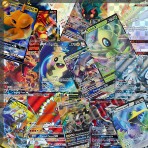 150 Pokemon Cards Super Bulk Lot - 1 Ultra Rare GX, EX or V + 16 Holos / Rares
