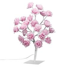 Finether 1.5ft Adjustable Rose Tree Table Lamp for Christmas Party Holiday
