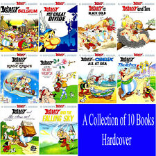 Asterix 10 Books Hardcover Collection by Rene Goscinny. Brand New. In English.