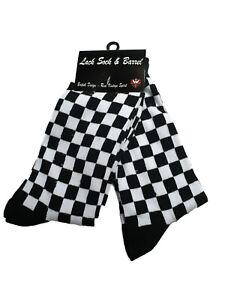 Warrior UK England Ska Check Socks 2 Pairs Doppelpack Socken Skinhead Karo 2Tone