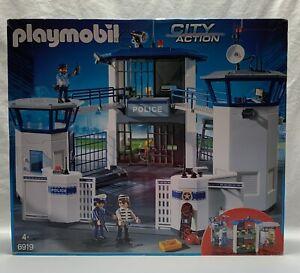 (K376) PLAYMOBIL - REF 6919 - COMMISSARIAT DE POLICE - CITY ACTION - NEUF