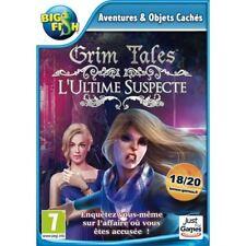 GRIM TALES L'ULTIME SUSPECTE ENQUETES OBJETS CACHES WINDOWS XP/VISTA/7/8/10