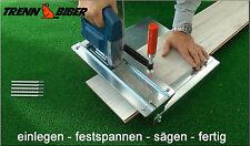 Trenn-Biber012+5 Paneele schneiden Sägetisch Stichsäge Laminat Stichsägeblätter