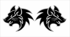Hot Cool AR15 Lower Tribal Wolves Decals Magazine Stickers Mag Black Decor