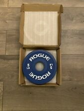 Rogue Change Plates 5 lb Pair - Brand New - 10 Lbs total - Olympic Weight Set