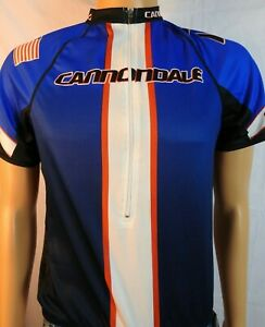 Cannondale USA Red/White/Blue  Cycling Jersey Shirt Sz M