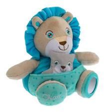 ◘ - Doudou Peluche Eveil Marionnette Lion Bleu  Soft Cuddles Chicco Neuf