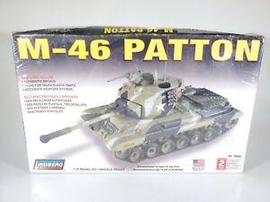 Lindberg M-46 Patton 1/35 Model Kit #76002 Factory Sealed NEW NIB