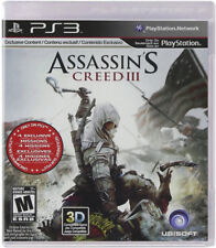 Assassin''s Creed III PS3 New PlayStation 3, Playstation 3