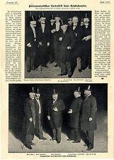 Reichskanzler Fürst zu Hohenlohe Parlamentarisches Gartenfest Herzog v. R...1900