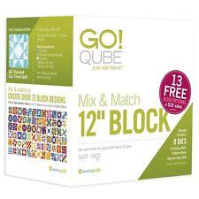 """AccuQuilt 55778 Go Qube 12"""" Mix & Match Block"""