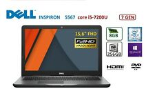 """DELL Inspiron 5567 15.6"""" FHD, i5-7200U, 8GB, 256GB SSD, Win 10 Pro"""