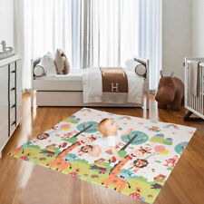 Foldable Baby Crawling Play Mat Xpe Maze Zoo Mat Educational Alphabet Game