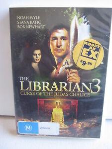 THE LIBRARIAN 3 , DVD. NOAH WYLE, STANA KATIC, BOB NEWHART.