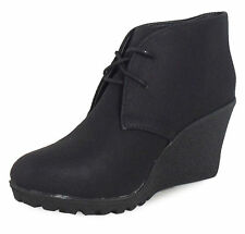 River Island Women's Wedge Boots