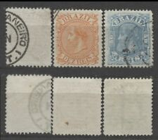 No: 77103 - BRAZIL - LOT OF 3 OLD STAMPS - USED!!