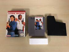 Lethal Weapon Nintendo NES Original Game & Box