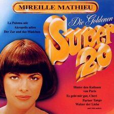 """MIREILLE MATHIEU """"GOLDENE SUPER 20"""" CD NEUWARE!!!!!!!"""