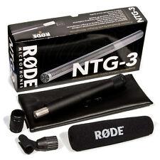 RODE NTG-3 Broadcast-Richtrohrmikrofon