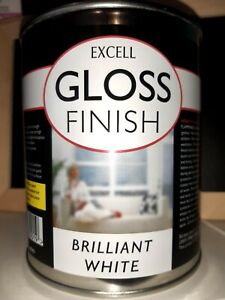 ☆750Ml Excell quick Brilliant white gloss☆