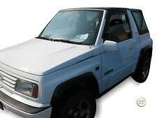 Suzuki Vitara 3 puertas 1989-1998 conjunto de frente viento desviadores 2pc Heko Teñido