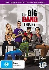 THE BIG BANG THEORY - COMPLETE THIRD SEASON 3 - BRAND NEW & SEALED DVD (3-DISC)
