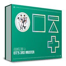 BANGTAN BOYS BTS 3rd MUSTER [ARMY.ZIP+] DVD,Photobook +Free Gift kpop