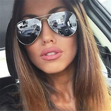 Retro Classic Aviator Polarized Sunglasses Mens Womens Metal Pilot Sun Glasses