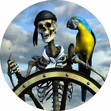 Pirate & Parrot Spare tire cover for Jeep RV Camper VW etc(all sizes available)