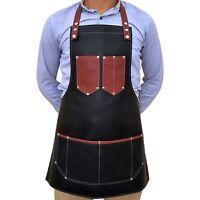 Professional Barber PU leather apron,barber Hair Cut cape,salon hair cut apron