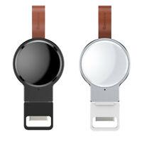 Qi Wireless Charger Ladegerät Magnetisch Kabellos für Apple Watch 1 / 2 / 3 / 4