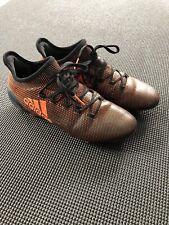 Adidas Mens Soccer Cleats Size 7 Black Orange