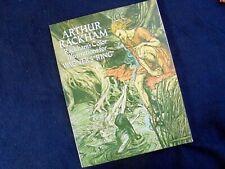 """ARTHUR RACKHAM'S ILLUSTRATIONS FOR WAGNER'S """"RING""""~DOVER PUBLICATIONS ~1979"""