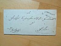 Vorphilabrief Thurn &Taxis 1847, Stempel BUTZBACH, Inhalt! 920