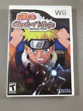 Naruto: Clash of Ninja Revolution (Nintendo Wii, 2007)  New