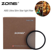ZOMEI 49mm ABS Multi-Coated Ultra-Thin Star Effect Filter For Canon DSRL Camera