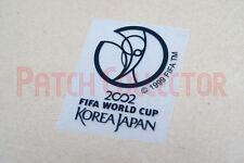 FIFA World Cup 2002 Korea Japan Black Sleeve Soccer Patch / Badge