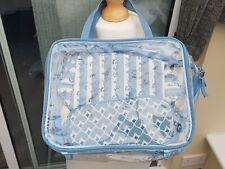 BNWOT Wash Bag and Make-up Set in Plastic Holder