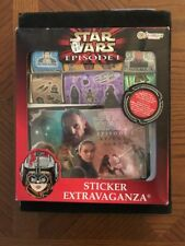 NEW STAR WARS Episode 1 Sticker Album Extravaganza Sandylion 170+ stickers Pack
