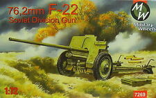 76,2 mm Pak F-22, 1/72, Mw, Plastic, New