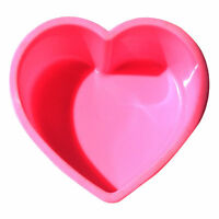 Silicone Heart Cake Cupcake Chocolate Candy Cupcake Jelly Baking Mold Soap Tray