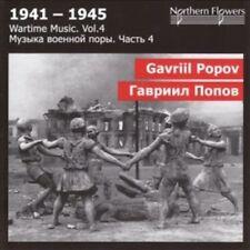 St.Petersburg State - Wartime Music 4 - G. Popov - Sympho [New CD]